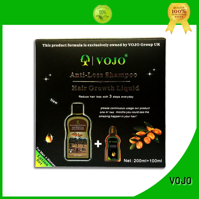 VOJO loss hair growth shampoo manufacturers for man