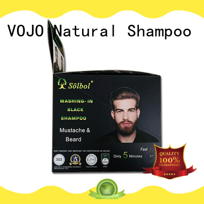 colorfulhair colour shampoo ginseng with cheap price for man