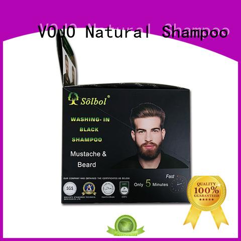 beard dye shampoo grey for girls VOJO