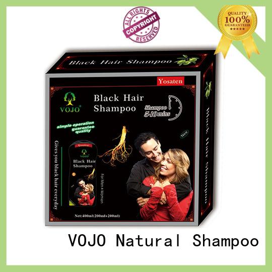 VOJO brand beard dye shampoo supply for adult