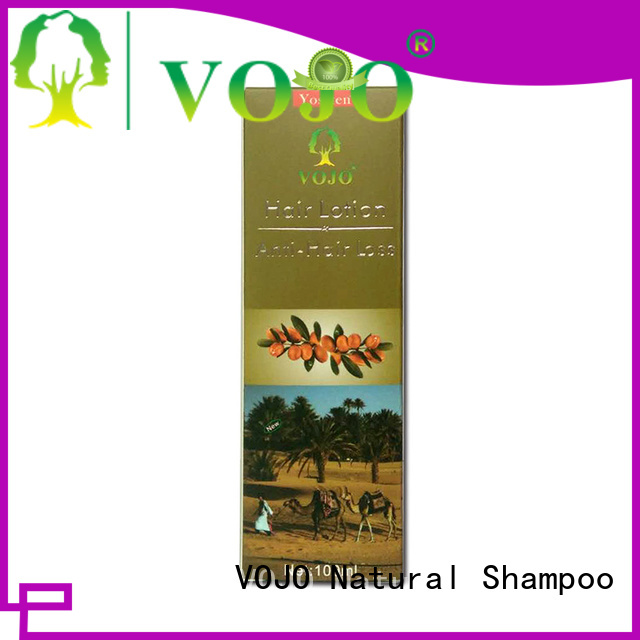 VOJO organic anti hair fall shampoo factory for woman