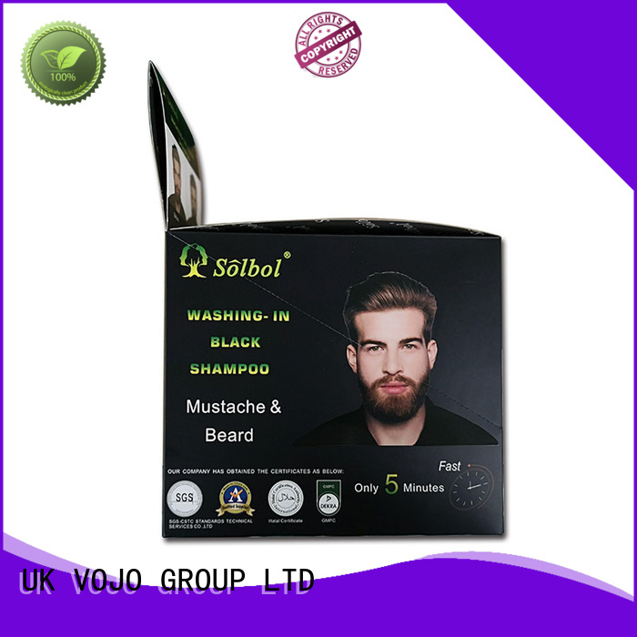 VOJO High-quality beard dye shampoo for sale for girls