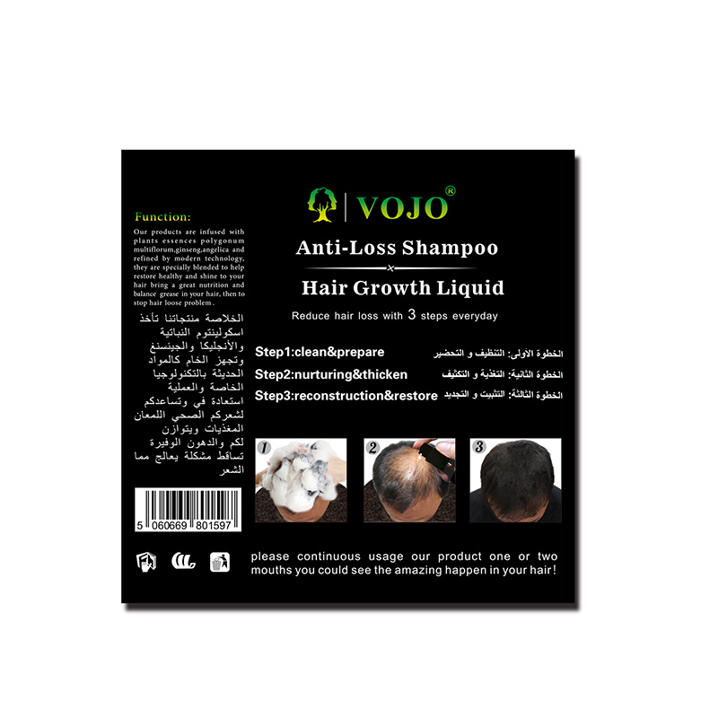 High-quality hair growth shampoo argan manufacturers for man-2