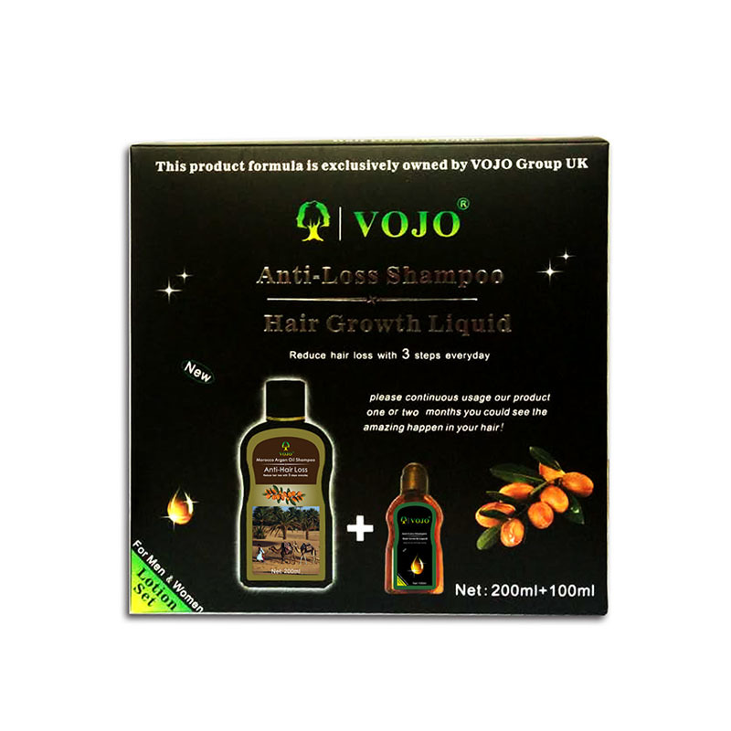vojo hair loss shampoo factory Wholesale  Anti- Hair Loss Hair Growth Stimulating Shampoo