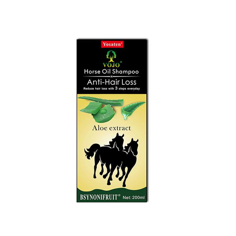 VOJO  natural anti hair loss private label organic shampoo