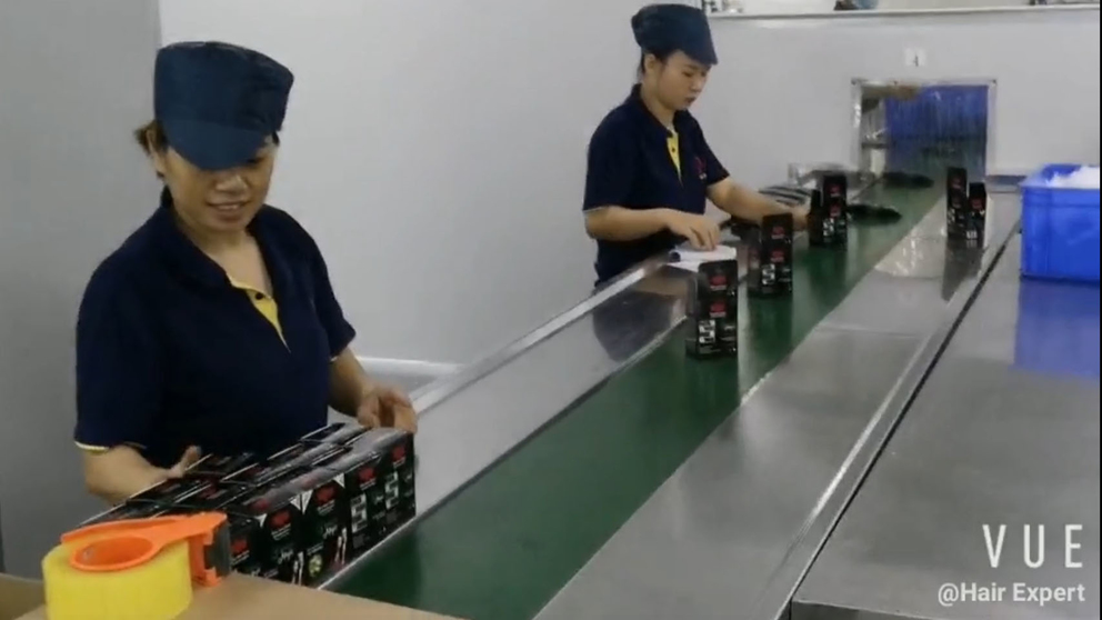 Production Line Of Shampoo
