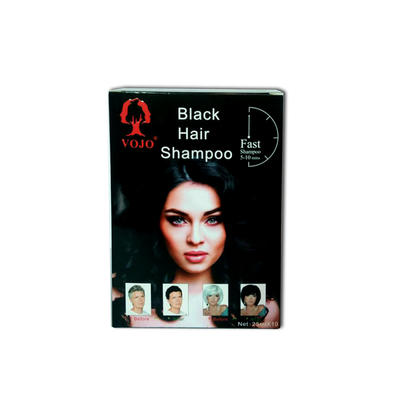 VOJO FACTORY  OEM and ODM Fast Dyeing Black Hair Shampoo