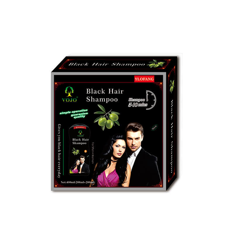 vojo black hair shampoo brands/ hair blackening shampoo /black hair shampoo