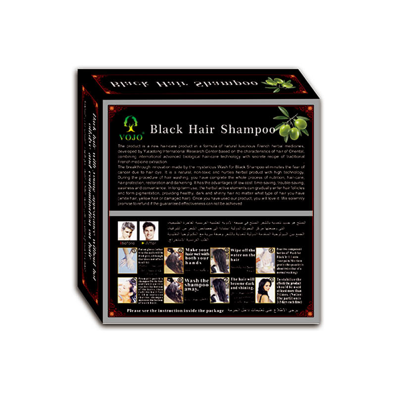 VOJO Custom hair colour shampoo for business for salon-1
