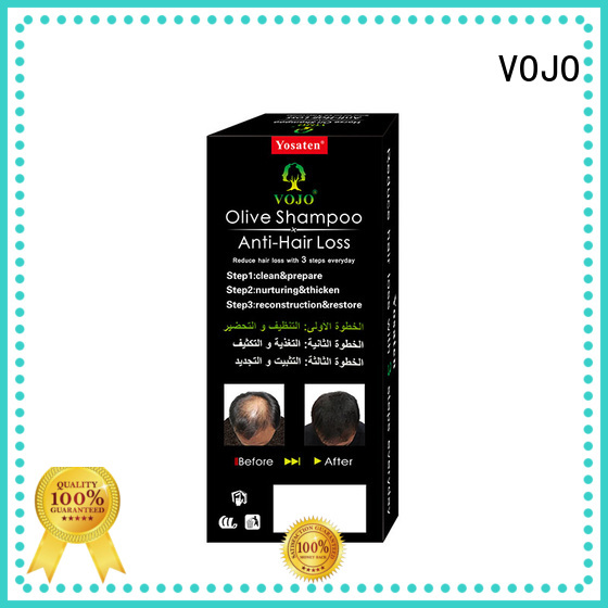 VOJO New anti hair fall shampoo company for woman