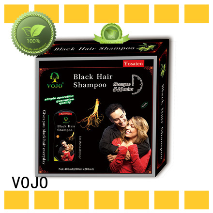 VOJO herbal hair dye shampoo factory for salon