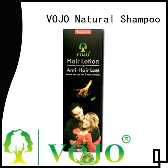 VOJO promotes hair growth shampoo company for salon