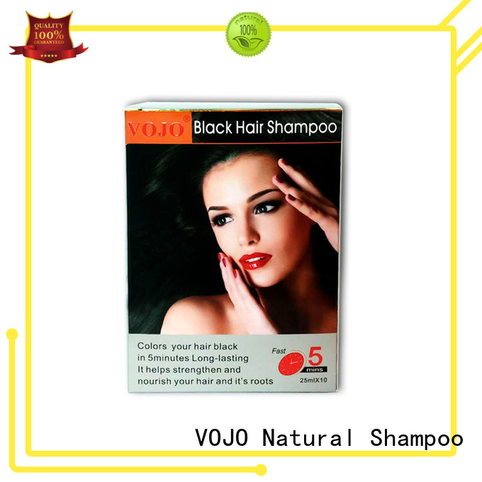 VOJO superior beard dye shampoo certifications for adult