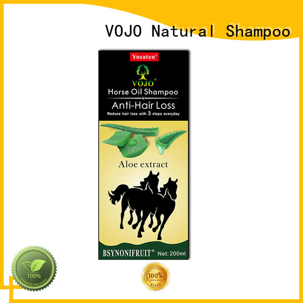 VOJO superior hair growth shampoo from China for adult