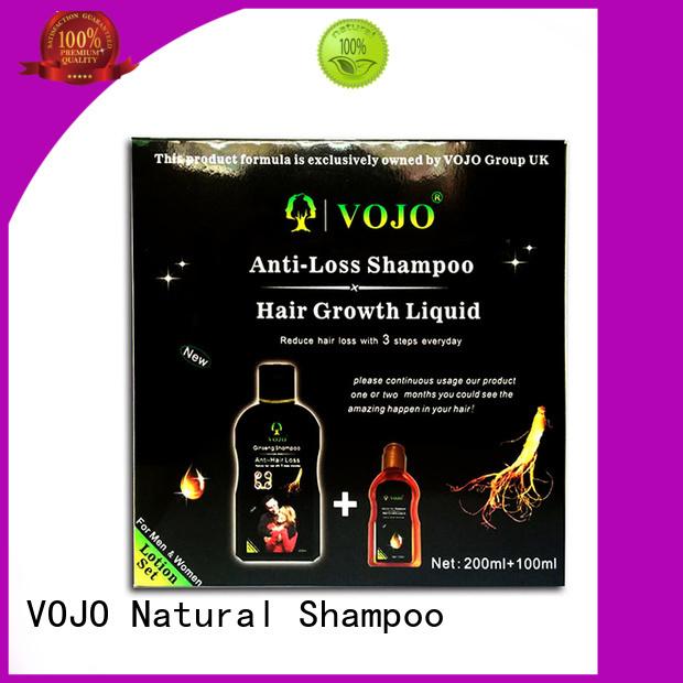 VOJO shampoo hair growth shampoo for sale for salon