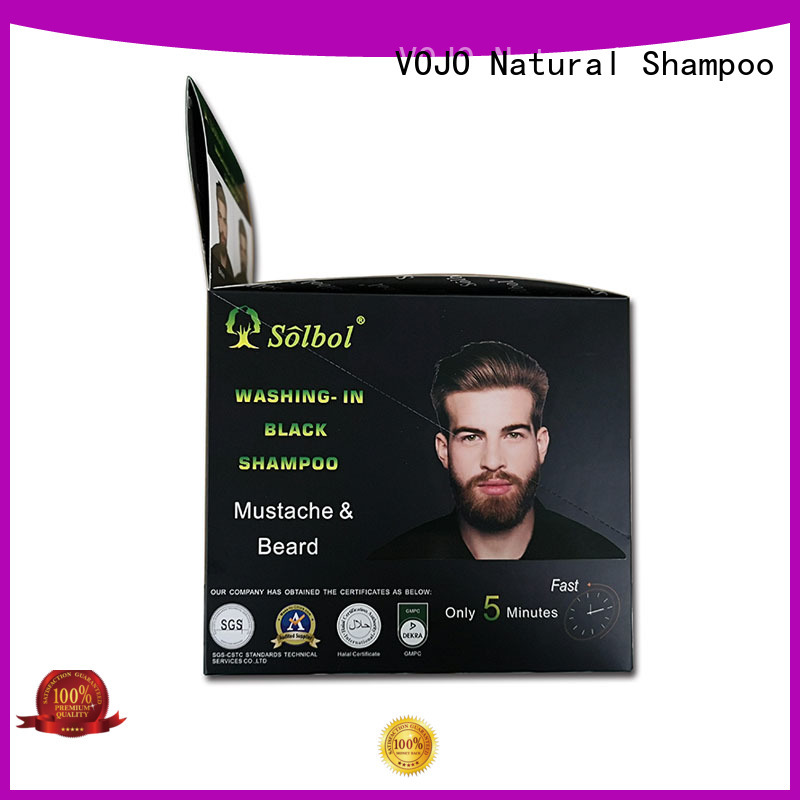 VOJO New hair dye shampoo supply for man