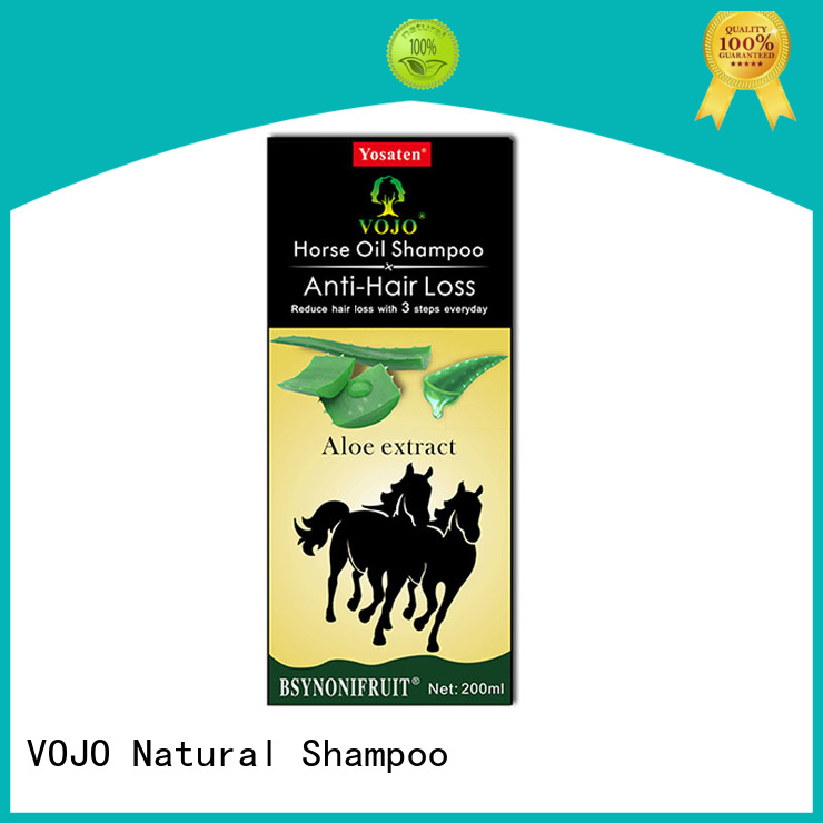 VOJO New anti hair loss shampoo for business for man