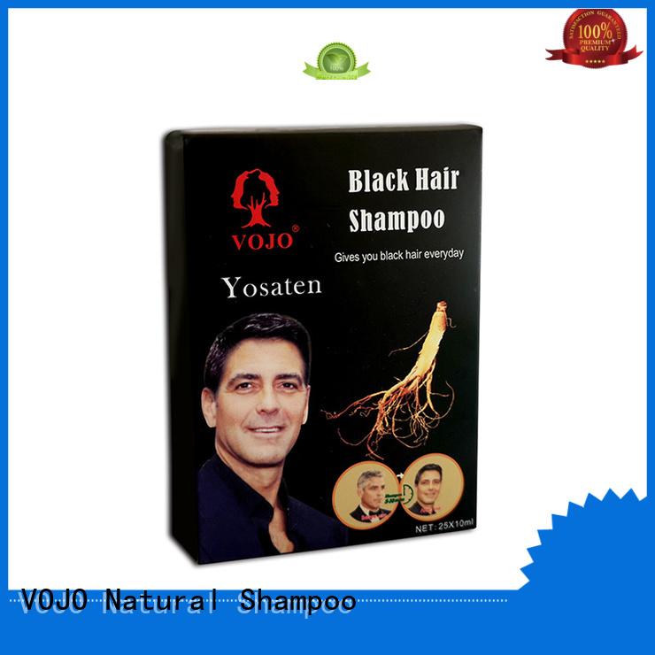dyeing hair dye shampoo China manufacturer for girls VOJO
