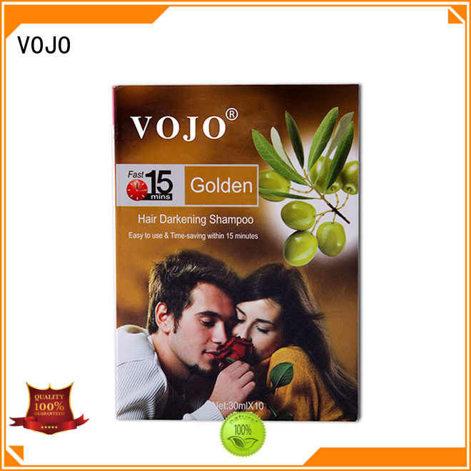 VOJO herbal hair dye shampoo for sale for woman