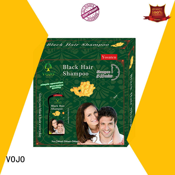 VOJO New hair dye shampoo company for adult