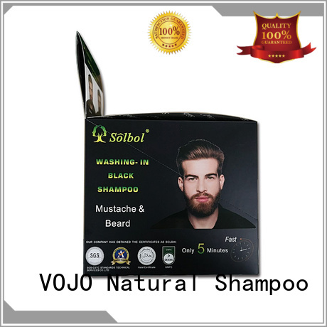 VOJO Wholesale hair dye shampoo company for girls