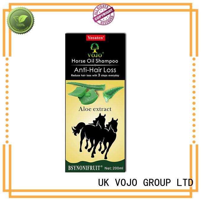 Custom anti hair loss shampoo label factory for man