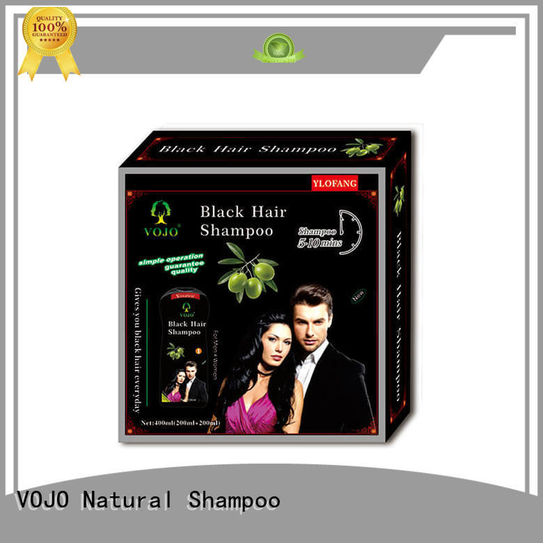 VOJO High-quality hair colour shampoo supply for man