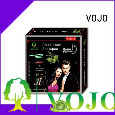VOJO blackening hair colour shampoo suppliers for girls