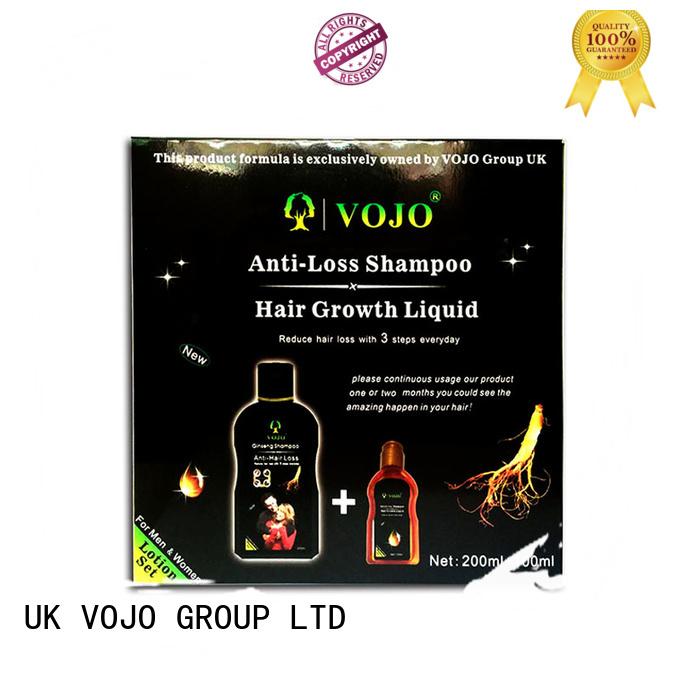 New anti hair loss shampoo shampoo Supply for man