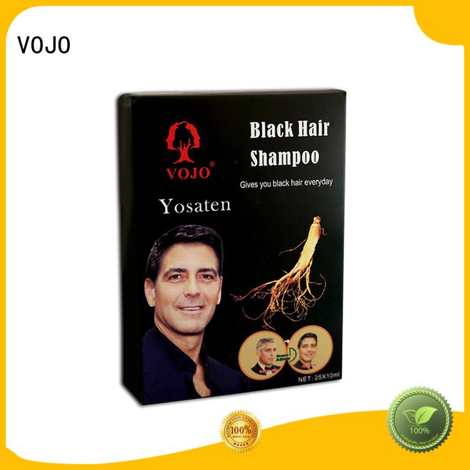 VOJO brand beard dye shampoo supply for salon