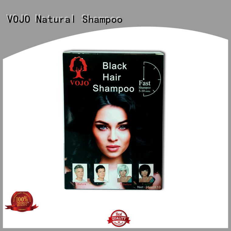 VOJO Wholesale hair dye shampoo factory for girls