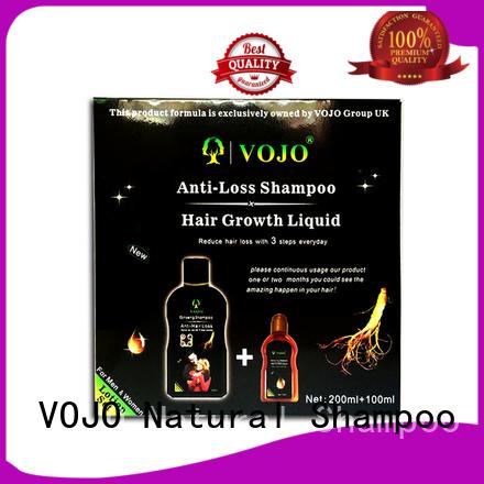 VOJO free hair growth shampoo supply for man