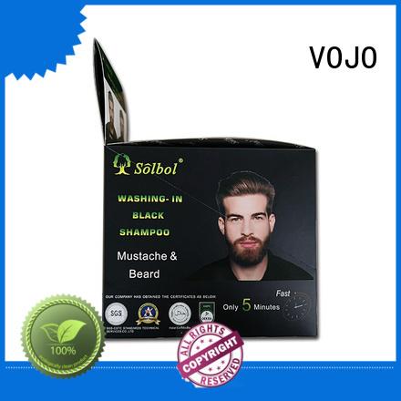 VOJO market beard dye shampoo factory for salon