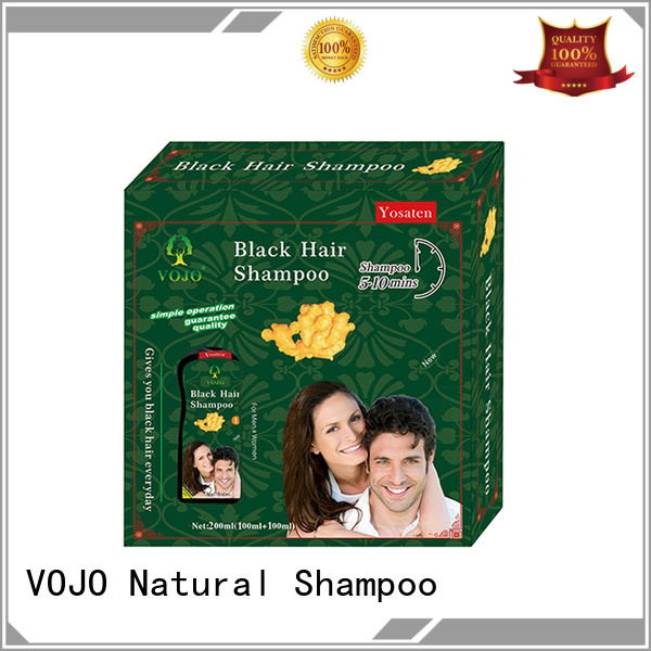 VOJO black hair dye shampoo for business for woman