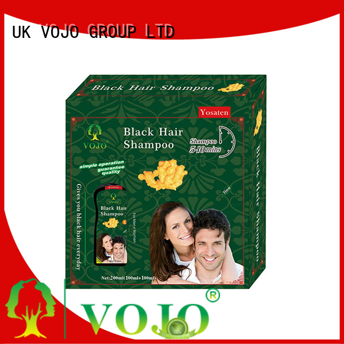 VOJO healthy hair dye shampoo for business for man