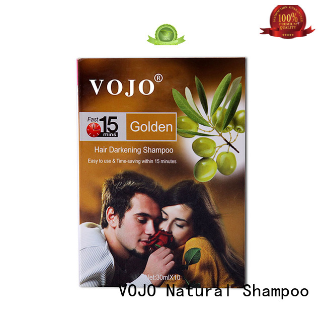 VOJO Latest hair dye shampoo suppliers for woman