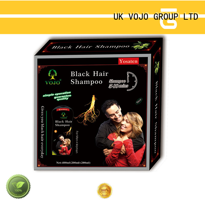 VOJO cover beard dye shampoo suppliers for salon