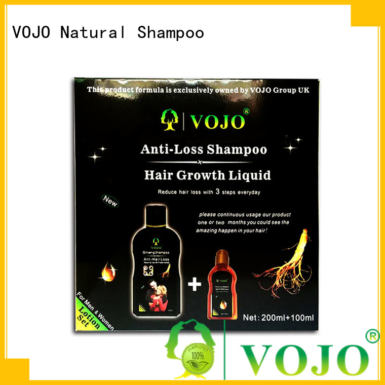 VOJO sulfate hair growth shampoo for business for salon