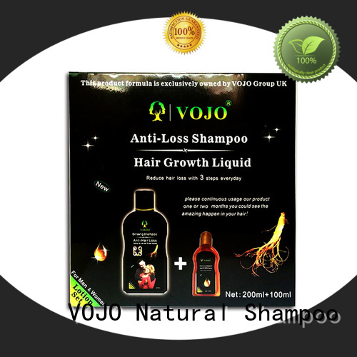 VOJO New anti hair fall shampoo for business for woman