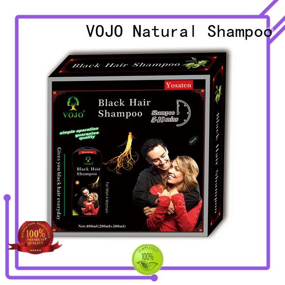 VOJO ginseng hair dye shampoo suppliers for man