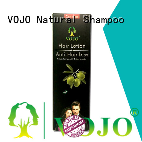 promotes anti hair loss shampoo manufacturers for adult VOJO