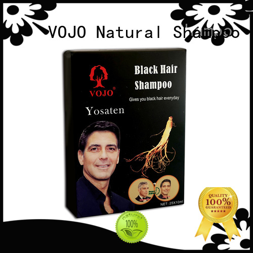 VOJO blackening beard dye shampoo company for man