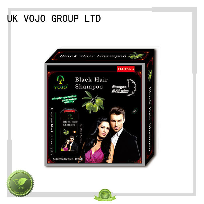 VOJO black hair colour shampoo supply for girls