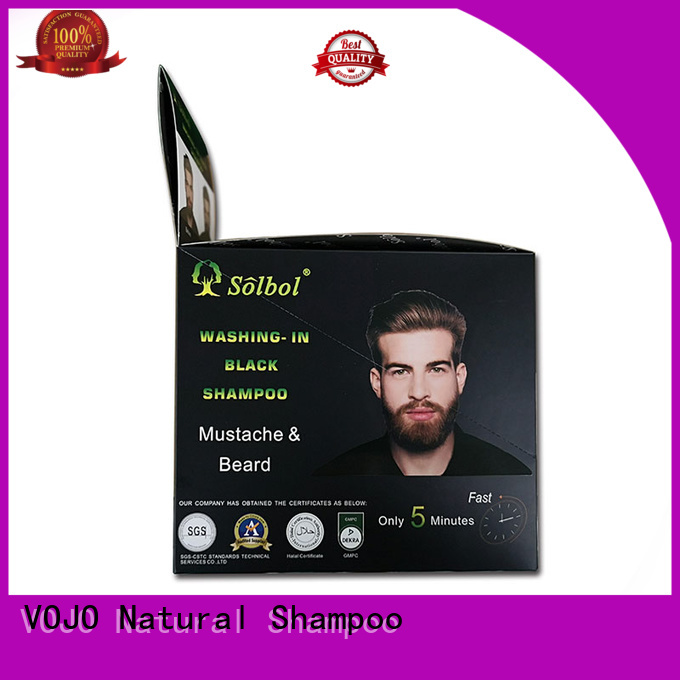 VOJO High-quality hair dye shampoo supply for man