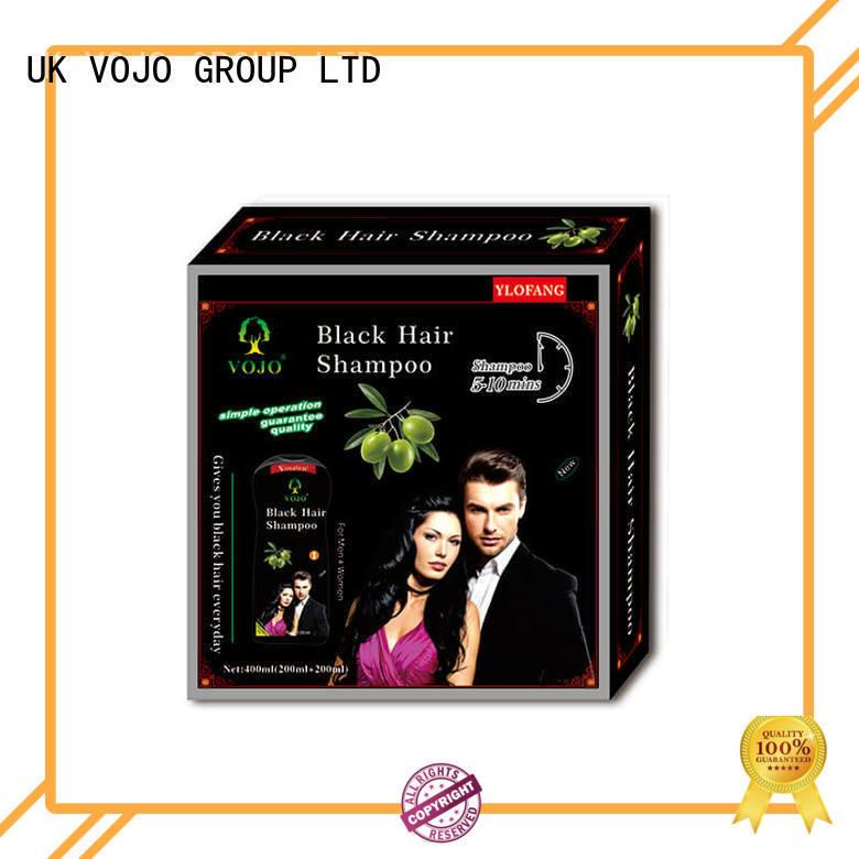 VOJO brand hair dye shampoo factory for man