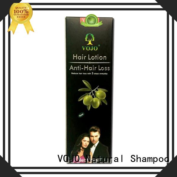 VOJO dubai anti hair loss shampoo factory for adult