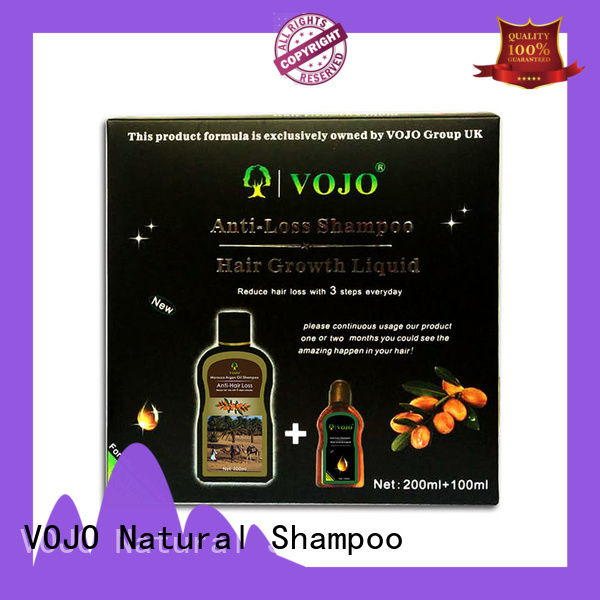 VOJO treatment anti hair fall shampoo suppliers for adult