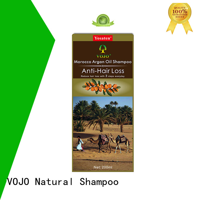 VOJO New anti hair loss shampoo manufacturers for salon