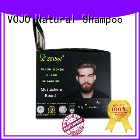 VOJO Custom hair colour shampoo suppliers for man