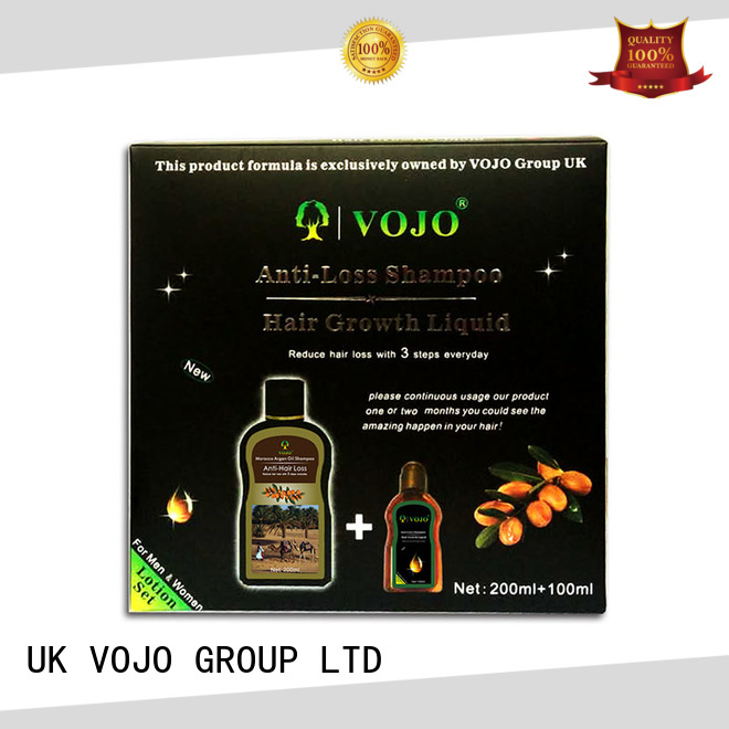 VOJO Wholesale anti hair loss shampoo for business for woman